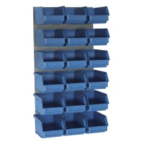 LP1 Louvred Panel with Size 5 Bins